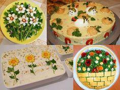 Cum ornezi salata de boeuf. 25 de idei pentru Paste - Case practice Finger Food Appetizers, Finger Foods, Appetizer Recipes, Paste, Camembert Cheese, Food And Drink, Birthday Cake, Desserts, Tailgate Desserts