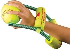 Correct Throw Youth Softball Training Aid by Innovative Progress Inc.. $69.99. Correct Throw Youth Softball Throwing Training Aid This softball trainer helps improve your throwing and protects your arm by strenthening 8 key muscles. Correct Thorw teaches a repeatable throwing motion. Learn to throw with power, precision and proper mechanics. Great for pitchers, catchers, infielders and outfielders. Develop a strong arm, not a sore arm. Ages 7 - 10. Also available in adult #UPITCHS