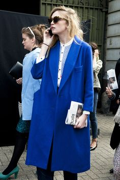 Blue Collection: Blue Street Style