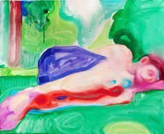 "Saatchi Art Artist: Brage Moreite Nørholm; Oil 2013 Painting ""Untitled"""