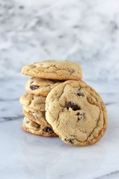 Soft Batch Chocolate Chip Cookies have two secret ingredients to keep them ultra soft and tender!