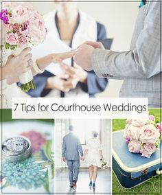 tips for planning a small courthouse wedding ideas #elegantweddinginvites #smallweddingideas