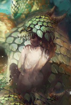 dragon child by carlosgarijo.deviantart.com on @deviantART