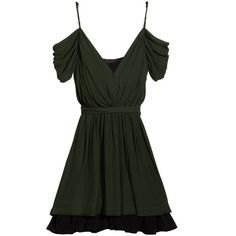 Joie Leslie Dress in English Green ($368) ❤ liked on Polyvore