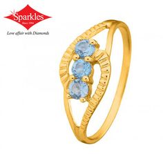 Trinity Blue sapphire Ring Price: 7,169 Trinity Blue sapphire Ring: - An all blue sapphire ring is set with trinity of 3 blue sapphires.Trinity defines God as 3 divine persons, the father, the son, the holy-spirit. More Info: http://www.sparklesindia.com/…/c…/trinity-blue-sapphire-ring... See More