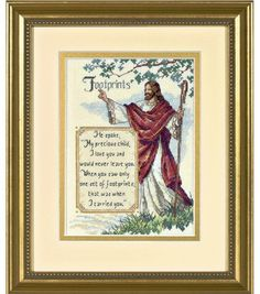 Dimensions Gold Collection Counted Cross Stitch Kit In His Arms Petite