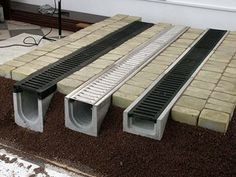 auxiliary building in the country – Búsqueda de … - Hof Ideen Gutter Drainage, Backyard Drainage, Landscape Drainage, Backyard Landscaping, Drainage Grates, Backyard Privacy, Backyard Ideas, Backyard House, Trench Drain