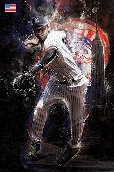Cool digital artworks by mike harrison baseball art, baseball players, sports baseball, my Baseball Art, Sports Baseball, Sports Art, Baseball Players, Sport Craft, Buster Posey, Babe Ruth, Celebrity Travel, Derek Jeter