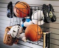 sport equipment storage Basket