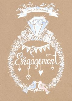 Engagement Quotes Congratulations, Engagement Wishes, Congratulations Card, Wedding Engagement, Wedding Quotes, Wedding Images, Scorpio And Cancer, Happy Anniversary Cards, Holiday Messages
