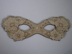 Masquerade Mask Laser Cutouts Floral Design by TomaCraftPlace