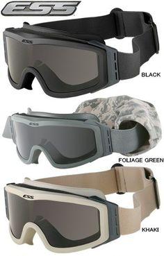 3f2b3730af ESS Profile NVG Black Ballistic Goggles Eyewear