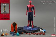 Pre-Order - Hot Toys The Amazing Spider-Man 2 Sixth Scale Figure http://www.toyhypeusa.com/2014/04/19/pre-order-hot-toys-the-amazing-spider-man-2-sixth-scale-figure/