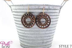 Wood Earrings | 15 Styles