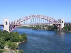 Hell Gate bridge [1916 - New York, USA]
