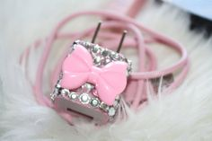 swarovski pink Bow by slave2beauty on Etsy~Granddaughters!