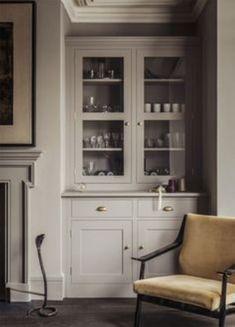 Best kitchen cabinets glass doors built ins Ideas Alcove Storage, Home, Kitchen Decor, Built In Cupboards, Kitchen, New Kitchen, Kitchen Dining Room, Country Kitchen, Kitchen Dresser