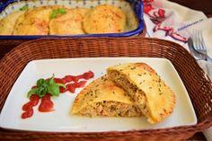 coltunasi-cu-carne-tocata-preparati-la-cuptor-7 French Toast, Breakfast, Food, Salads, Morning Coffee, Essen, Meals, Yemek, Eten
