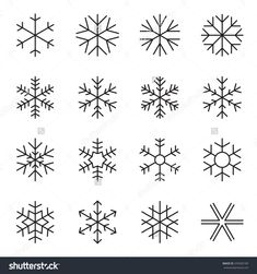 stock-vector-thin-line-simple-snowflake-icons-symbols-of-winter-frost-snow-freezer-refrigerator-frozen-345500189.jpg (1500×1600)