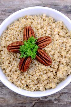 Quinoa Pilaf with Pine Nuts Recipe