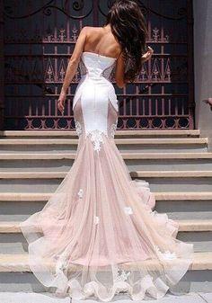 Rosa Patchwork Grenadine Appliques Tulle V-Ausschnitt Sleveless elegante reizvolle Hochzeits-Kleid-Maxi Kleid