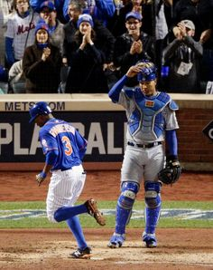 Curtis Granderson, NYM/Sal Perez, KC///WS Game 5 , Nov 1, 2015