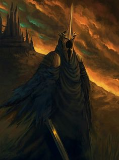 The Nazgûl Lord: The Witch-King of Angmar. Hobbit Art, O Hobbit, Lord Of Rings, Fellowship Of The Ring, Jrr Tolkien, Witch King Of Angmar, Dark Lord, Legolas, High Fantasy
