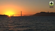 Golden Gate Bridge sunset: read about the best places to film and photograph in this city in our magazine: http://issuu.com/traveltelly/docs/issue3