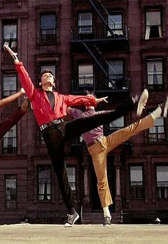 "♫♪ Dance ♪♫ together ""West Side Story"" George Chakiris"