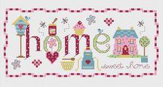 Home Baking Cross Stitch Kit £23.95 | Past Impressions | Nia
