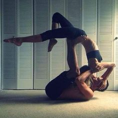 Yoga Poses Around The World Partner Acro Taken In Boca Raton FL United States By Marella B