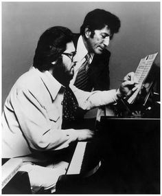 Bill Evans and Tony Bennett Photo Chuk Stewart