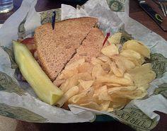 Curly's Pub at Lambeau Field [Turkey Club w/ Chips]