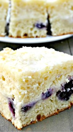 Blueberry Lemon Cream Cheese Coffee Cake Recipe