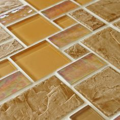 THROUGH THURSDAY: Get 10% off on the SomerTile 11.75-in Oasis Versailles Peony Glass/ Ceramic Mosaic Tiles (Pack of 10)