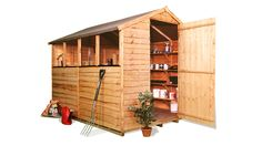 The BillyOh 20 Range - Cheap Wooden Sheds - Garden Buildings Direct 8x6 184.99 inc floor