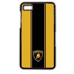 Lamborghini Aventador Bond Style TATUM-6291 Blackberry Phonecase Cover For Blackberry Q10, Blackberry Z10