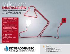 ¡No te pierdas la oportunidad de conocer y saber la experiencia sobre innovación de Steven Saunders! #CampusReforma