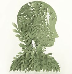 Each detailed creation was carefully hand cut using a sharp knife and a self-healing cutting mat.  ~ Elsa Mora