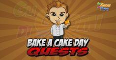 Bake a Cake Day Quests  Inizio previsto per il 01/10/2015 alle ore 13:30 circa Scadenza il 15/10/2015 alle ore 19:00 circa  Hey Contadino! Ho bisogno di nuovo del tuoaiuto! Dopo la conclusione del Cook Off Day (Giornata della Cucina) il nostro pasticcere ha volutoun Bake Off Day (Giornata dellInfornata!). Ed eccoci qui! Voglio organizzareun a giornata dedicata alla cottura delle torte. Vuoi aiutare?    Mancano 16 giorni 6 ore 26 minuti 15 secondi alla scadenza della quest!    Quest #1  Fatti…