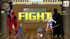 Chucky The Killer Doll And Deadpool VS Darth Vader And Shimakaze In A MUGEN Match / Battle / Fight This video showcases Gameplay of Chucky The Killer Doll And Deadpool VS Darth Vader The Sith Lord From The Star Wars Series And Shimakaze In A MUGEN Match / Battle / Fight