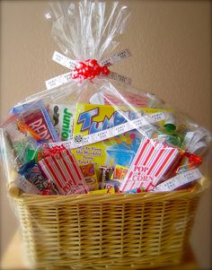 Family Game Night Gift Baskets.... audjiefied...
