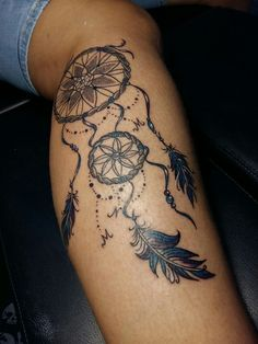 Dreamcatcher tattoo ... 💗 you may say i'm a dreamer but i m not the only one 😍