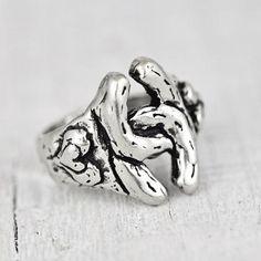 Handmade double horseshoe ring  #ring #jewelry #cowgirljewelry #bohojewelry #bohemianjewelry #gypsyjewelry #bohostyle #cowgirlstyle #westernstyle #gypsystyle #bohochic  http://www.islandcowgirl.com/