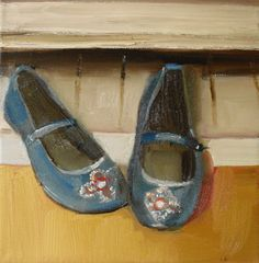Janet Hill —  Chinese Slippers, 2008   (1573x1600)
