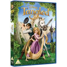 Tangled DVD ($9.18) ❤ liked on Polyvore featuring dvd and movies