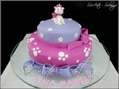 Decorated Cake - Gatinha Marie