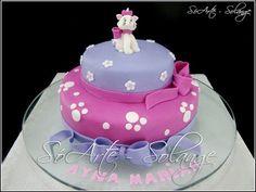 Decorated Cake - Gatinha Marie