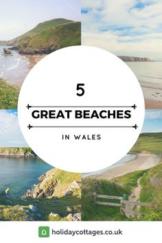 In addition to being the land of emerald hills, dragons, and giants who roam the country, Wales also has some of the best beaches in the UK. In fact, at the time of writing, around 40 of the beaches in Wales had been awarded blue flag status, an honour bestowed upon those with the highest level of safety standards, water quality, and environmental management. Here are five of the best beaches in Wales, but we can assure you that there are many more along the 750 mile Welsh coastline!