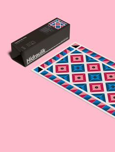 Prints by Hey for Hidraulik, a range of 100% PVC floor and table mats inspired…
